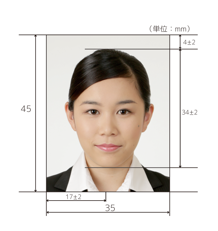 ビザ申請の証明写真は三宮のココロスタジオ