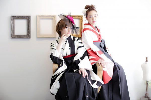 卒業袴の撮影は三宮のココロスタジオ