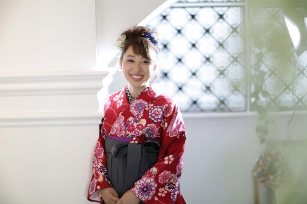 卒業袴の前撮りは三宮のココロスタジオ