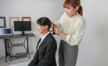 就活用の証明写真は神戸三宮ココロスタジオ